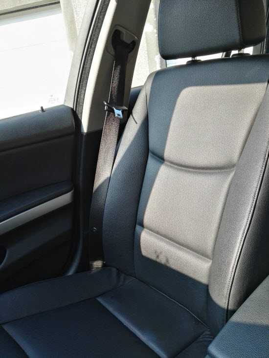 Does Infrared Penetrate Clothing - Car Seat Heated In The Sun