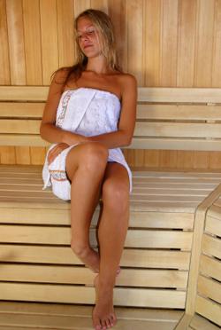 Infrared sauna detox